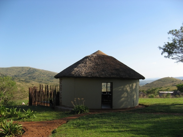 Dining room at Mdaka Homestead, South Africa